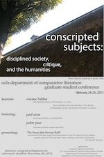 Conscripted Subjects: Disciplined Society, Critique, and the Humanities