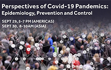 Image for Perspectives of COVID-19 Pandemics: Epidemiology, Prevention and Control