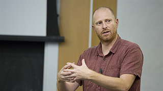 Image for UCLA geographer Adam Moore receives book award