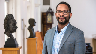 "Image for Faculty Spotlight: Alden Young on ""Working at the intersection of politics and economics."""