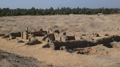 The dig site in Amarna