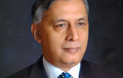 "H. E. Mr. Shaukat Aziz, Former Prime Minister of Pakistan: Burkle Forum on ""Pakistan & Afghanistan"""