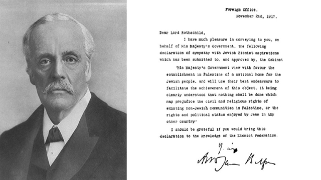 The Balfour Declaration and its Legacy
