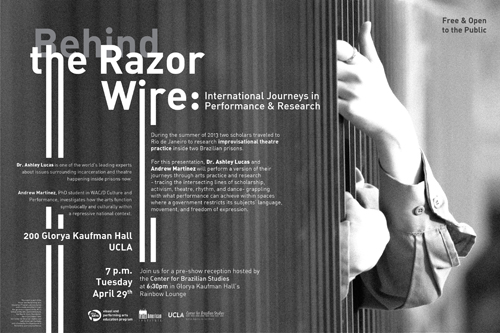 Image for Behind the Razor Wire: International Journeys in Performance & Research