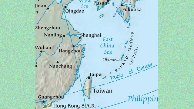 Rising tension in the East China Sea