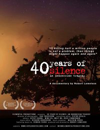 """40 Years of Silence: An Indonesian Tragedy"" -- Film Screening, Reception and Discussion"