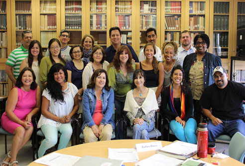 Workshop on Central America draws veteran LAUSD teachers
