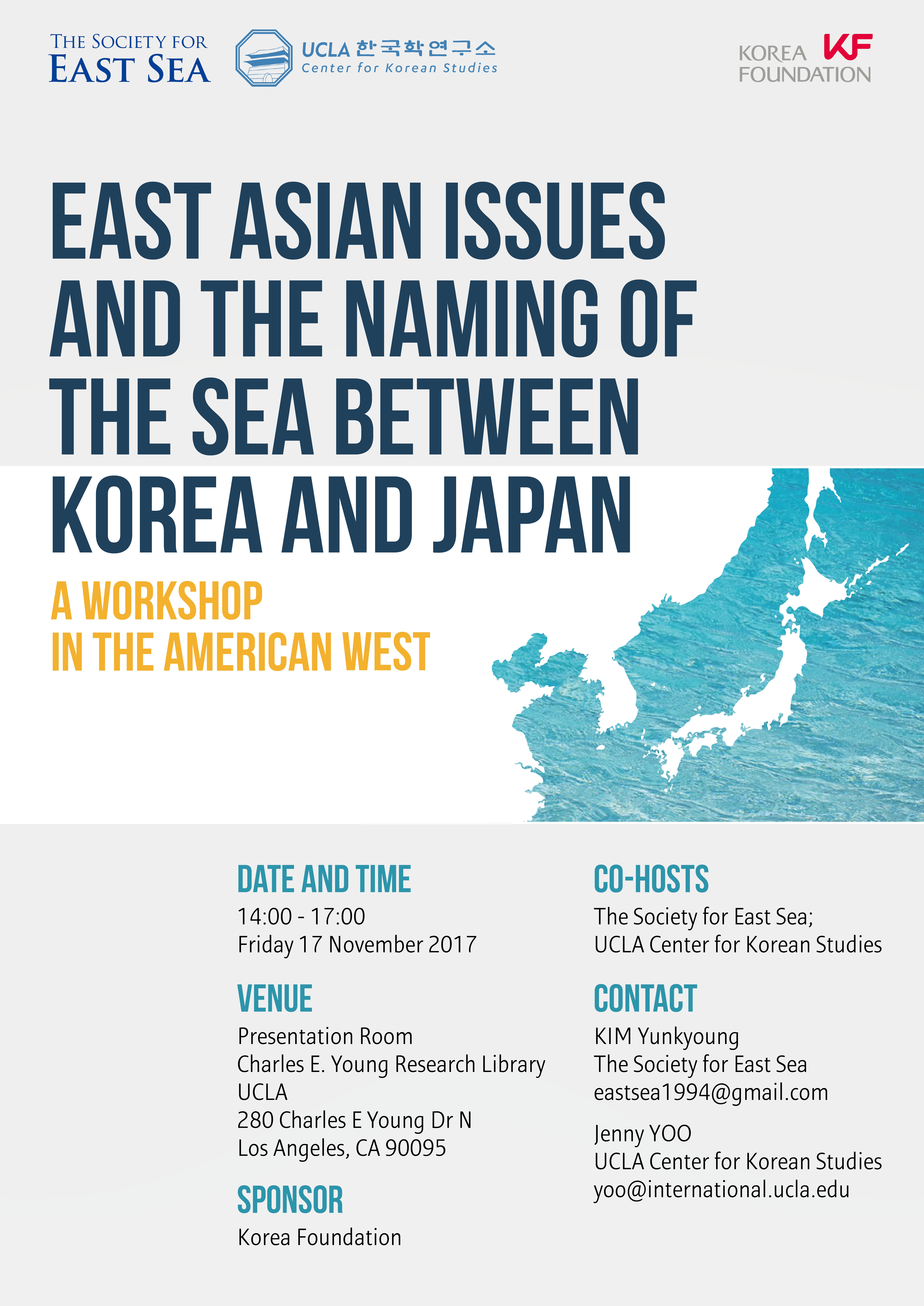 East Asian Issues and the Naming of the Sea Between Korea and Japan