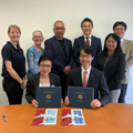 Image for JAL signs first-ever memorandum of understanding with UCLA