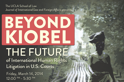 Image for Beyond Kiobel: The Future of International Human Rights Litigation in U.S. Courts