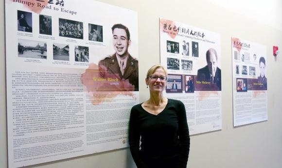 "Graduate student ""localizes"" Shanghailander exhibit at UCLA Hillel"