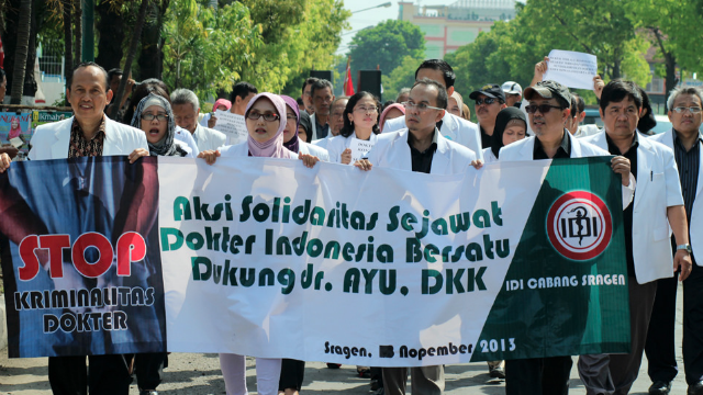 Defining <i>kriminalisasi</i> in Indonesia
