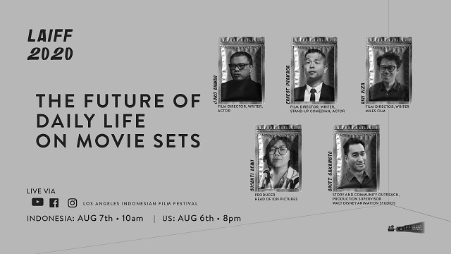 Image for LAIFF Panel: The Future of Daily Life on Movie Sets