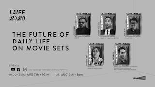 Image for Panel: The Future of Daily Life on Movie Sets