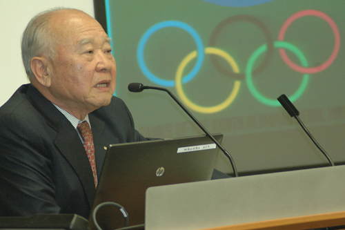 Grad shares insight into how Olympic Games changed a nation