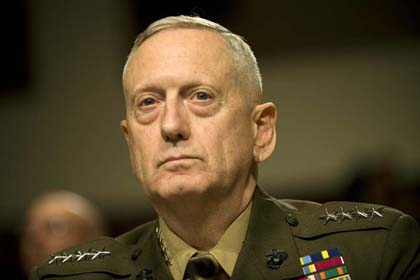 General James Mattis, Commander of US CENTCOM,  in Conversation with Mike Shuster, NPR