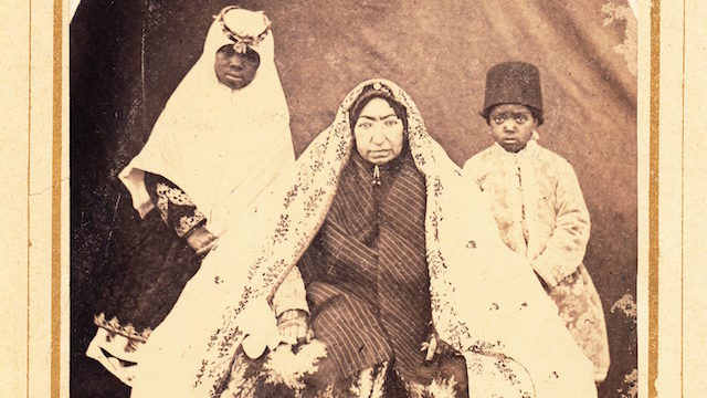 Lost Souls: Photography of African Eunuchs & Female Servants in Qajar Iran