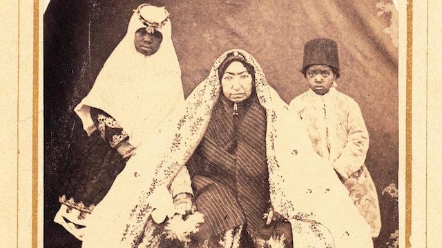 Lost Souls: Photography of African Eunuchs & Female Servants in Qajar Iran