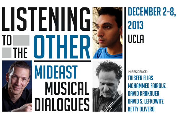 Image for Listening to the Other: Mideast Musical Dialogues, December 2-8