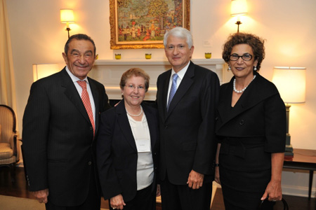 UCLA Nazarian Center for Israel Studies Dedicated, Donors Honored