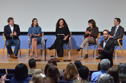 Former supermodel screens debut documentary at UCLA