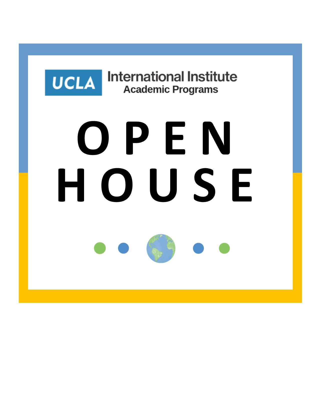Image for Academic Programs Open House & Fall Reception For Undergraduates