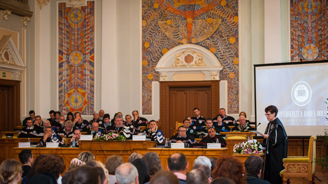 Gail Kligman receives honorary doctorate from celebrated Romanian university