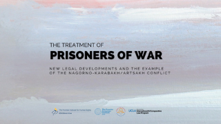 Image for The Treatment of Prisoners of War: New Legal Developments and the Example of the Nagorno-Karabakh/Artsakh Conflict