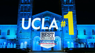 Image for UCLA ranked No. 1 public university by U.S. News & World Report