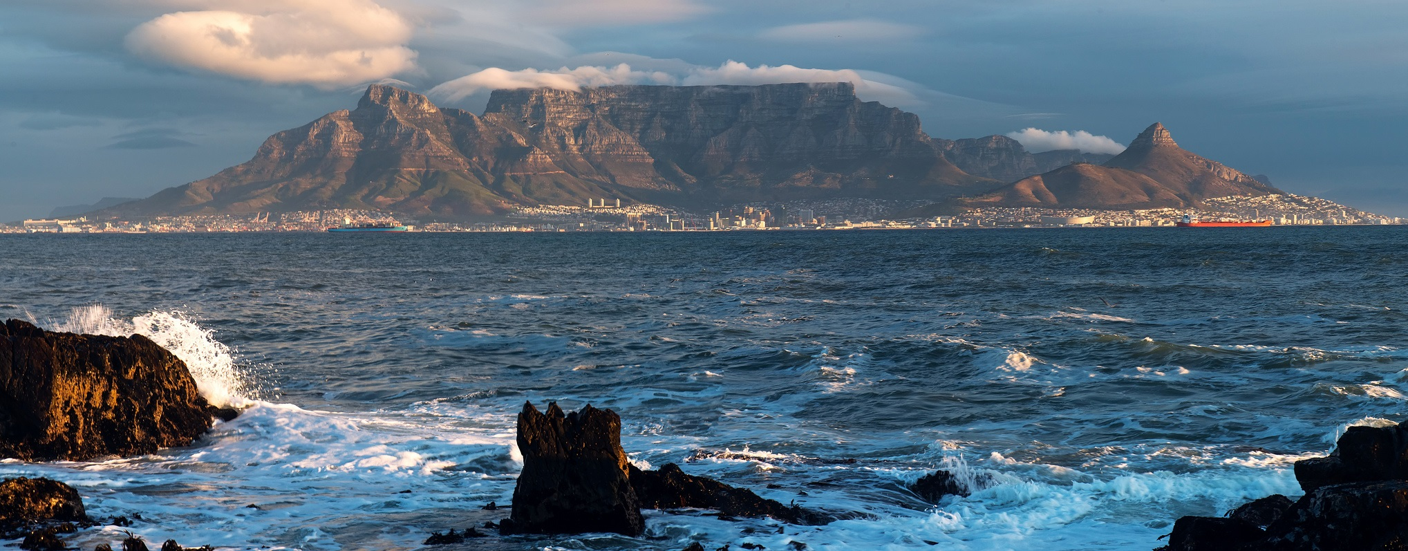 Image for Table Mountain at Cape Town, South Africa