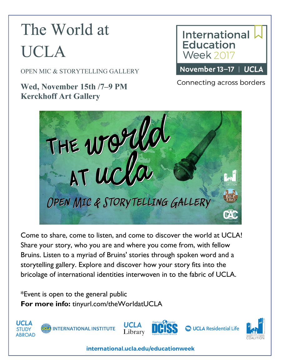 Image for IEW 2017: The World at UCLA