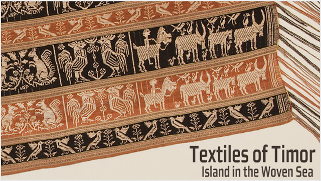 Image for Textiles of Timor, Island in the Woven Sea