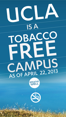 No smoking allowed: UCLA to go tobacco-free