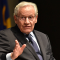 Image for News media need to look to their own house in Trump era, says Bob Woodward
