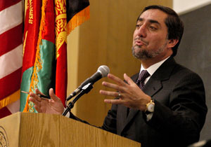 Afghan leader forges new state, ties to UCLA