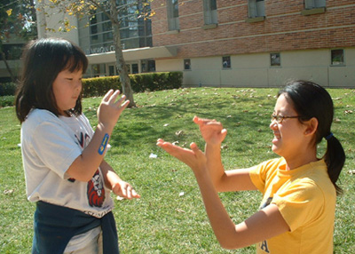 UCLA Club Reaches Out to Families with Children from China