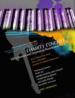 Chinese Student Association Annual Charity Concert