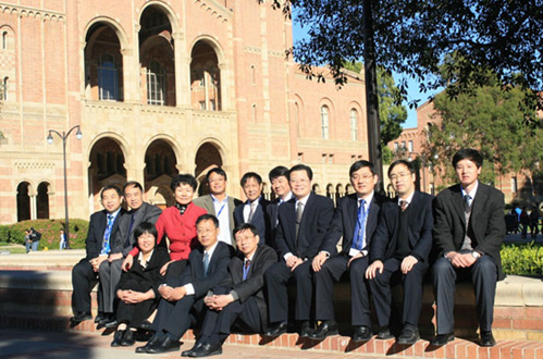 China Sends Senior Officials in Higher Ed to UCLA for Training