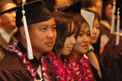 More Than 400 Graduate from International Institute in 2008-09