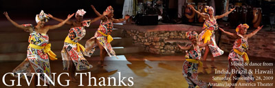 UCLA Center for Intercultural Performance: Giving Thanks