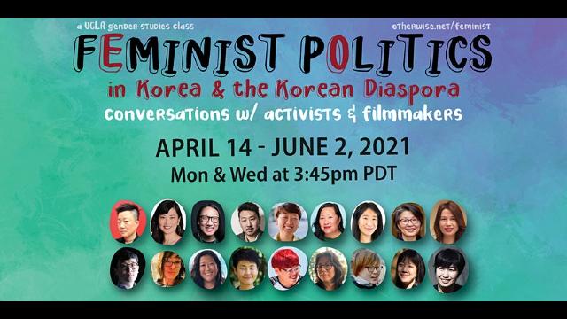 Image for Feminist Politics in Korea & The Korean Diaspora