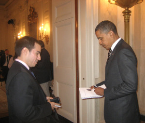 Study Abroad Journey Leads to White House