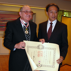 Professor in Japanese Studies Receives Award