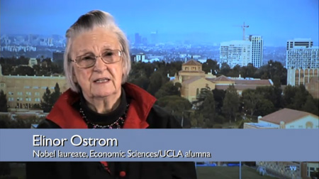 10 Questions for Nobel Prize-Winning Economist Elinor Ostrom
