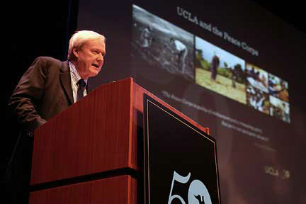 Peace Corps' 50th Anniversary Celebration Ranges from Heartfelt to Humorous