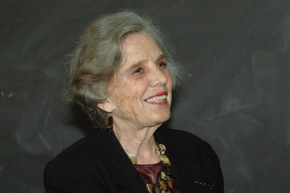 Mexican Writer Elena Poniatowska Addresses 250 on Literary Women