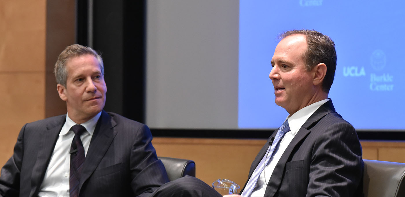 Image for VIDEO AND PODCAST: The 2017-18 Bernard Brodie Lecture on the Conditions of Peace featuring Congressman Adam Schiff