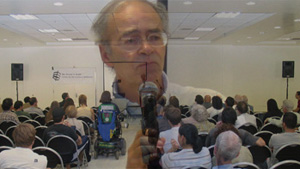 Peter Singer at UCLA Critiques President Bush