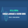 Image for Korean Language and Culture Series