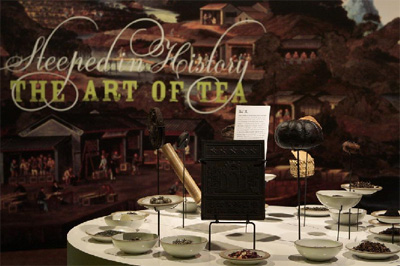 Exhibit Serves Up History of Tea